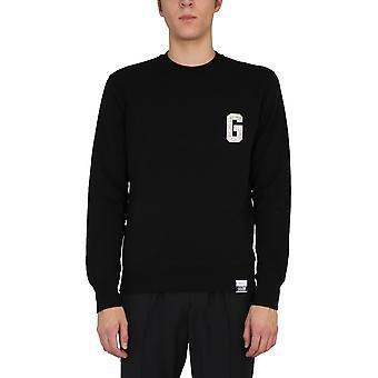 Golden Goose Gmp00798p00020690100 Men's Black Cotton Sweatshirt