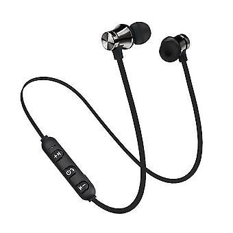 Magnetic Wireless Bluetooth Earphone, Music Headset Phone Neckband Sport