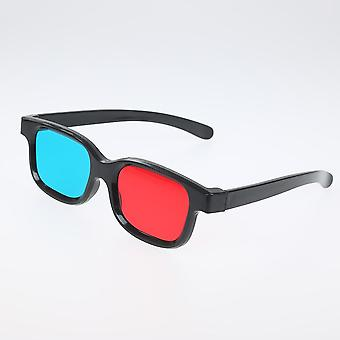 3d Glasses Frame Dimensional Anaglyph Tv Movie, Dvd Game Video Glassesfor