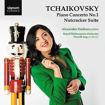 Tchaikovsky / Dariescu / Royal Philharmonic - Tchaikovsky: Piano Concerto No 1 / Nutcracker [CD] USA import