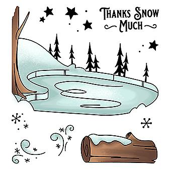 LDRS Creative Ice Valley Clear Stamps