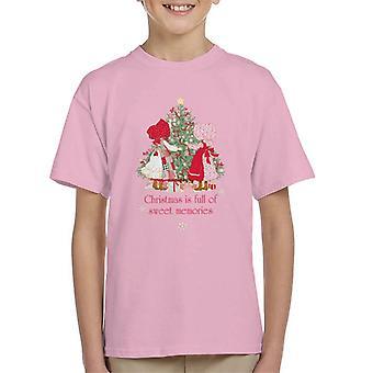 Holly Hobbie Christmas Sweet Memories Kid's T-Shirt
