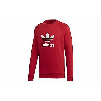 Adidas Trefoil Crew DX3615 uniwersalne przez cały rok męskie bluzy