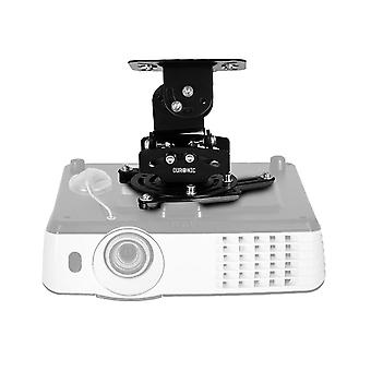 Duronic projector mount pb03xb | bracket fixing for ceiling | 13.6kg capacity | universal | heavy du