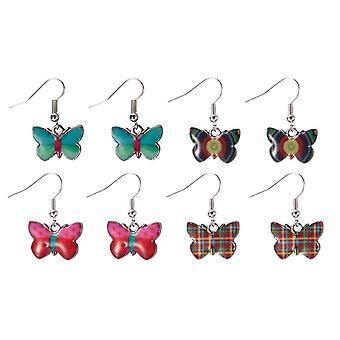 Fladdra Av Butterfly Drop Örhängen - Vald på Random