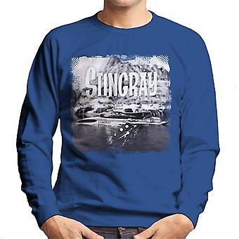 Stingray Submarine Vintage Camera Shot Men's Sweatshirt