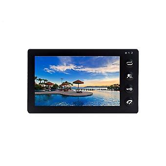 """7"""" Indoor Monitor With Recording Motion Detection For Video Door Phone,"""