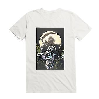 DC Comics Birds Of Prey Huntress Moonlight Comic Art T-paita