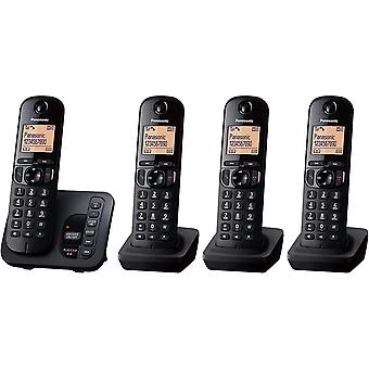 KX-TGC224EB DECT Cordless Phone with Answering Machine