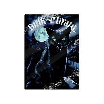 Grindstore Dine With The Devil Glass Chopping Board