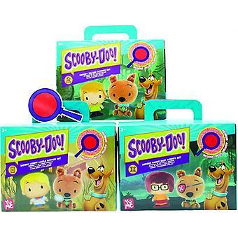 Scooby doo clássico playset com 2 4figures com atividades