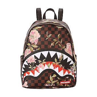 Sprayground Shark Flower Savage Backpack