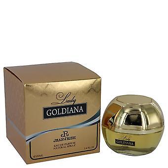 Lady Goldiana Eau De Parfum Spray By Jean Rish 3.4 oz Eau De Parfum Spray