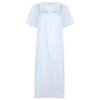 Slenderella ND3270 Damen's Baumwoll-Nachthemd