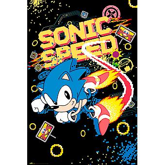 Sonic the Hedgehog Poster Sonic Speed 91,5 x 61 cm