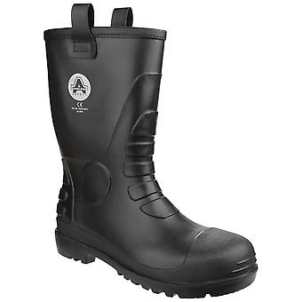 Amblers fs90 impermeable pvc safety rigger botas mujeres