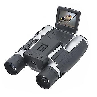 "Hd 500mp digital camera binoculars 12x32 1080p video camera binoculars 2.0"" lcd display optical outdoor telescope usb2.0 to pc"