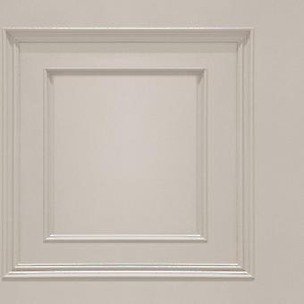 Oliana Cream Panel Wallpaper