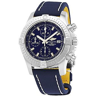Breitling Avenger Chronograph Automatic Blue Dial Men's Watch A13385101C1X2