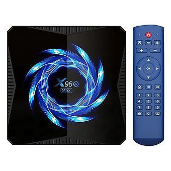 X96q max tv box network player h616 2.4g/5.0g android 10.0 4g+32g dual-band wifi (eu plug)