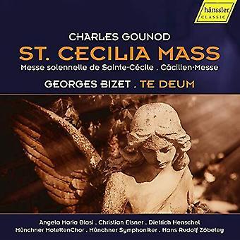 St Cecilia Mass / Te Deum [CD] USA import