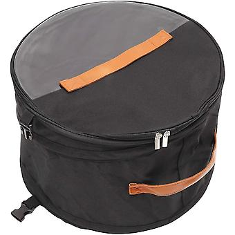Gerui Foldable Round Storage Box With Lid, Large Pop-Up Hat Storage Bag, Male and Female Travel Hat