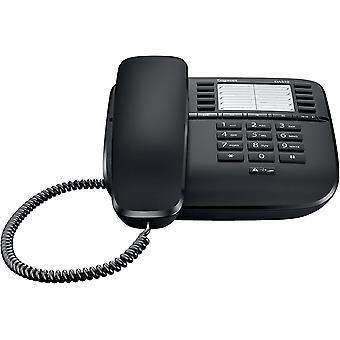 Wokex DA510 - Schnurgebundenes Telefon - klassisches Schnurtelefon mit Direktruf-Funktion -