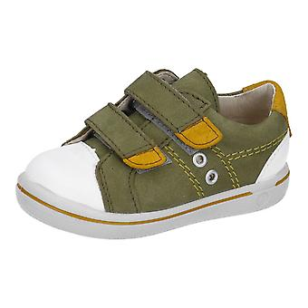 RICOSTA Nippy Shoe In Olive & White