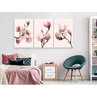 Maalaus - Spring Magnolias (3 osaa)120x60