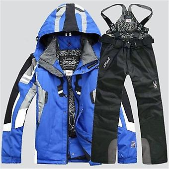 Men  Snowboarding Suits Jacket Ski Pants