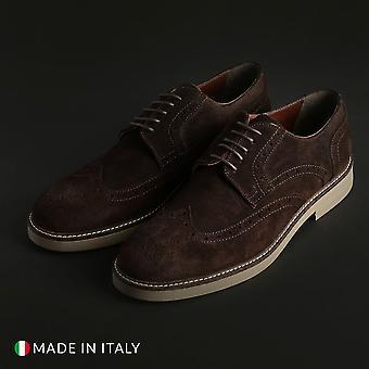 Duca di morrone - 606_camoscio - calzado hombre