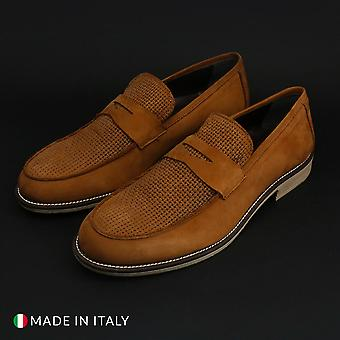 Duca di morrone - 5082_camoscio - chaussures pour hommes