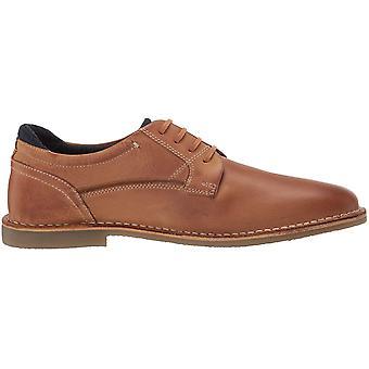 Steve Madden Men's Shoes Gorren Leather Lace Up Dress Oxfords