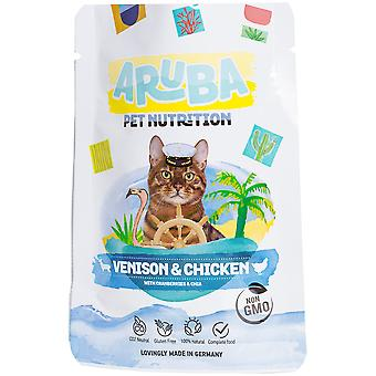 Aruba Cat Pouch Venison and Chicken with Cranberries & Chia (Cats , Cat Food , Wet Food)
