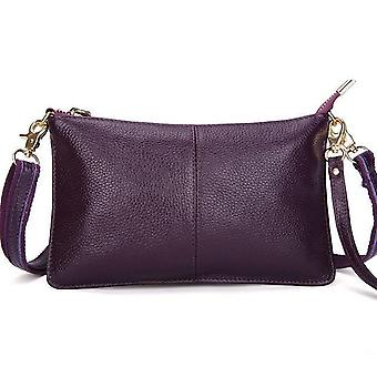 Candy Color Genuine Leather Bag For Women'S Fashion