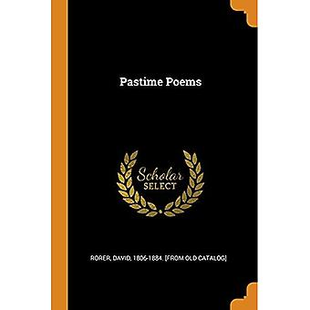 Pastime Poems