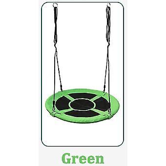 الأخضر خارج اللعب يتأرجح 100 سم 900d أكسفورد القماش جولة في الهواء الطلق حبل شجرة سوينغ الاطفال fa1006