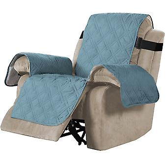 100% Waterproof recliner sofa covers couch slipcovers, blue