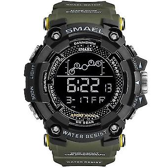Mens Watch, Military, Waterproof Sport Wristwatch, Digital Stopwatches,(ArmyGreen)