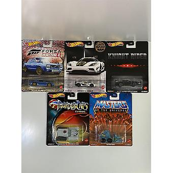 Kuumat pyörät Real Riders Retro Entertainment 5 Autosarja DMC55 957B