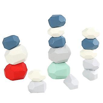 Stablede steinblokker