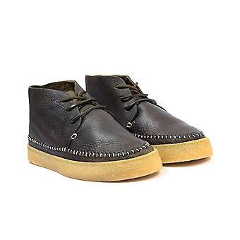 Yogi Footwear Hitch Tumbles Leather Boots - Olive