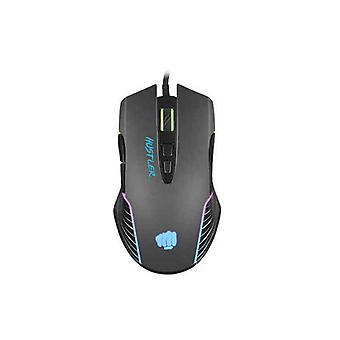 Gaming Mouse Fury Hustler 6400 DPI Black
