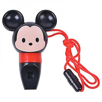Cartoon Of Musical Toy Whistle With Lanyard