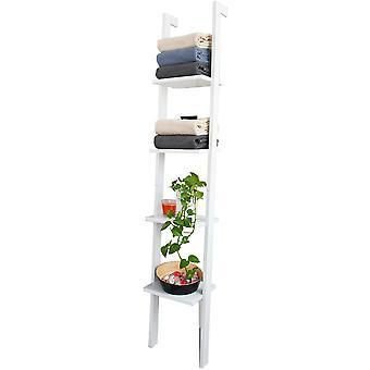 SoBuy moderne 4 Ebenen anzeigen Lagerung Holz Wandregal, FRG15-W