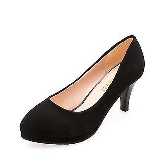 High-heeled Women Formal Dress Etiquette Flight Attendant Thin Heels