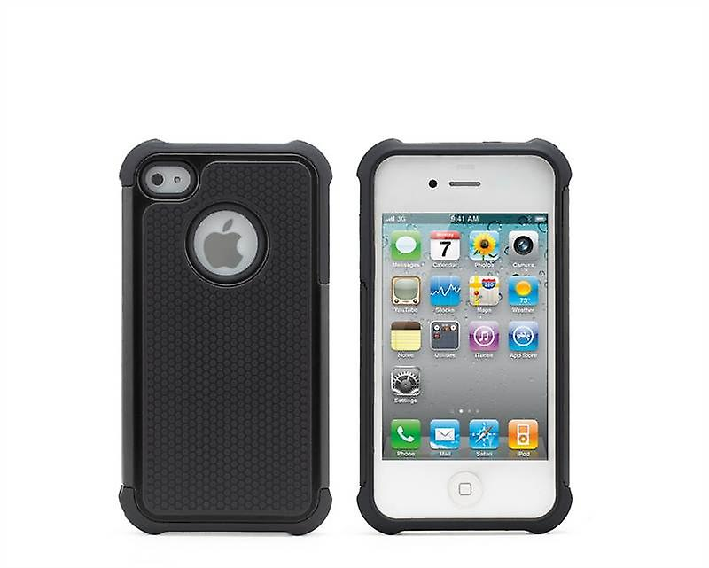 Shock Proof Case Cover For Apple iPhone 5 5S SE + touch stylus - Black