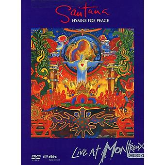 Santana - Montreux 2004: Hymns for Peace [DVD] USA import