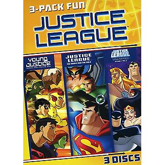 Justice League 3 Pack moro [DVD] USA import