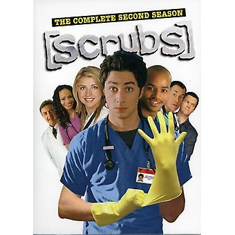 Scrubs - tuho: Suorita toinen tuotantokausi [3 levyä] [DVD] USA tuonti